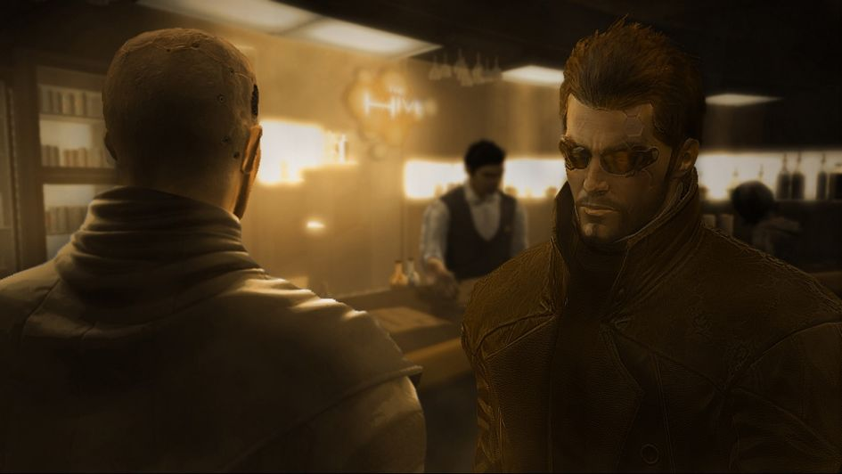 The crisp detail of Deus Ex shown in the bar.